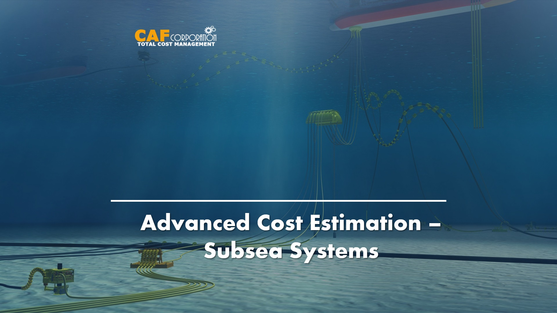 SUBSEA PRODUCTION SYSTEM COST ESTIMATION