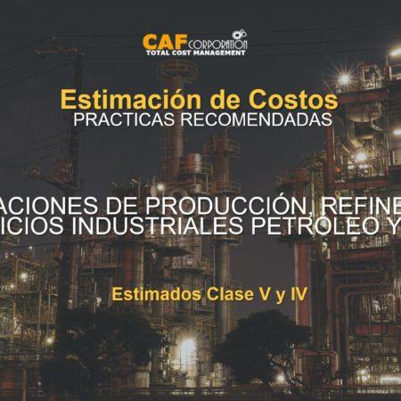 INSTALACIONES DE PRODUCCIÓN, REFINERÍAS Y SERVICIOS INDUSTRIALES PETRÓLEO Y GAS
