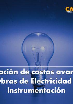 ESTIMACIÓN DE COSTOS AVANZADO – OBRAS ELECTRICIDAD E INSTRUMENTACIÓN