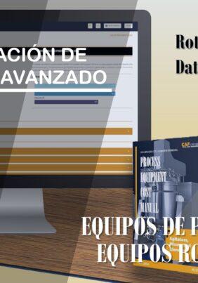 ESTIMACIÓN DE COSTOS AVANZADO – EQUIPOS ROTATIVOS