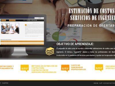 ESTIMACIÓN DE COSTOS DE SERVICIOS DE INGENIERÍA – PREPARACIÓN DE OFERTAS IPC